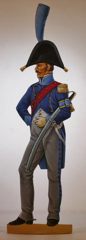 A.d.C. of Brigadier General, campaign dress.