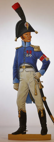 A.d.C. of Division General, regulation dress.