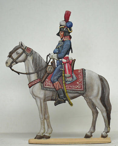 General Bonaparte on horseback
