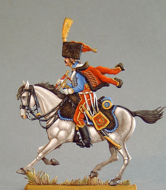 Hussar Trumpeter - Glorious Empires-Historical Miniatures