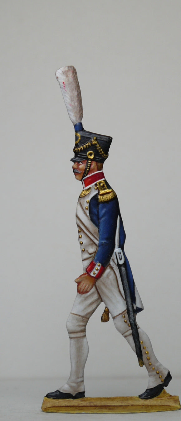 Fusilier Officer - Glorious Empires-Historical Miniatures