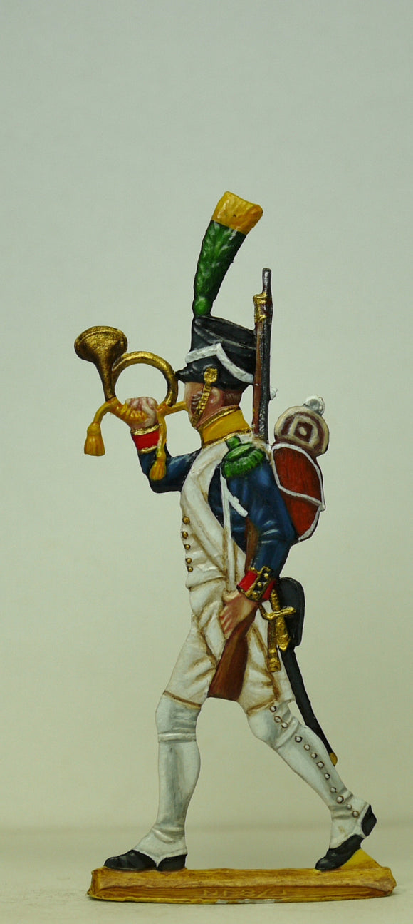 Voltigeur Hornist - Glorious Empires-Historical Miniatures