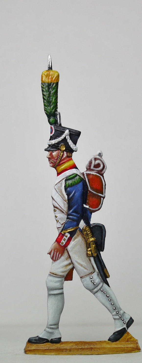 Voltigeur Sergeant - Glorious Empires-Historical Miniatures