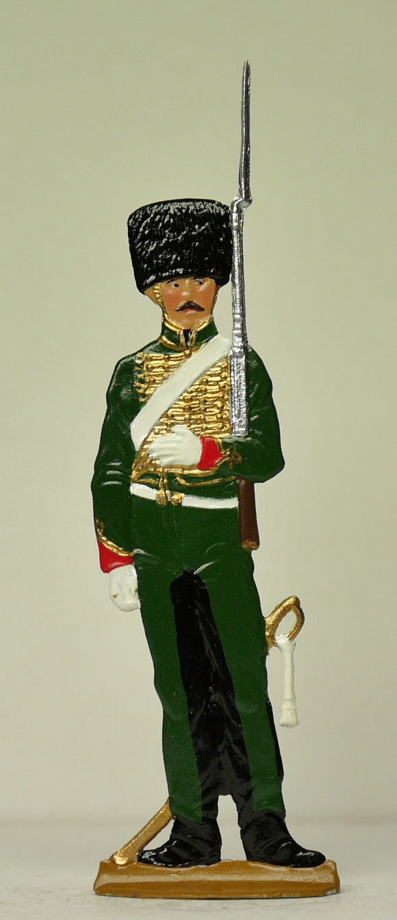 Chasseur on guard duty (frontal) - Glorious Empires-Historical Miniatures