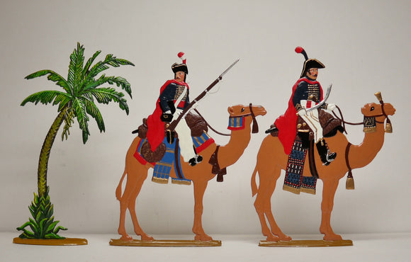 Dromadary Corps, Officer and trooper, set 6.3 Toy, - Glorious Empires-Historical Miniatures