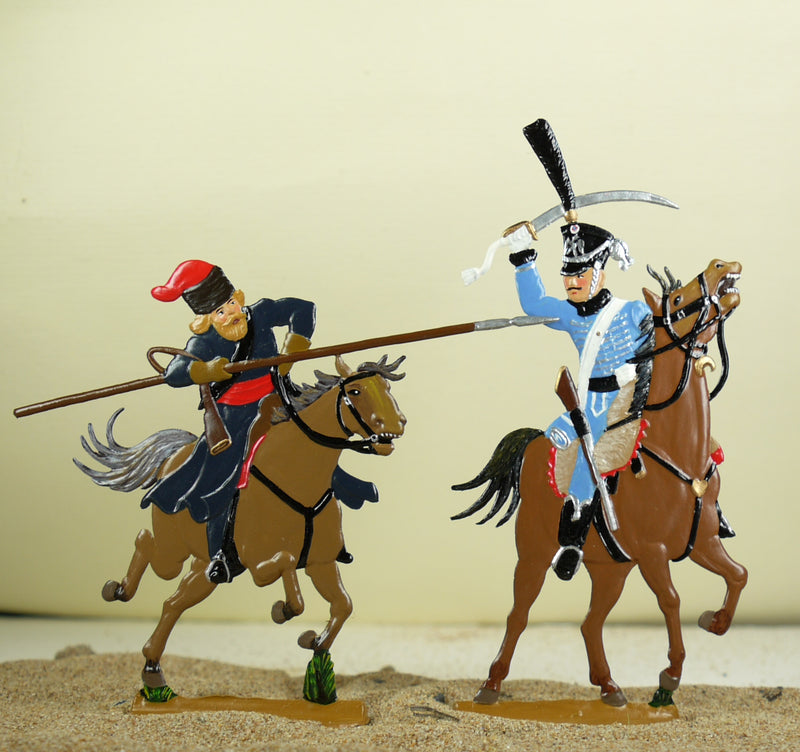 Hussar against Kossack - Glorious Empires-Historical Miniatures