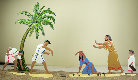 the stoning of Marie Magdalene (set R-1 Toy) - Glorious Empires-Historical Miniatures