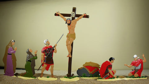 the Crucifiction (set R3-Toy)