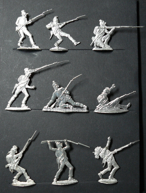 Mignot Egypt Campaign - French infantry fighting Mamelukes - Glorious Empires-Historical Miniatures