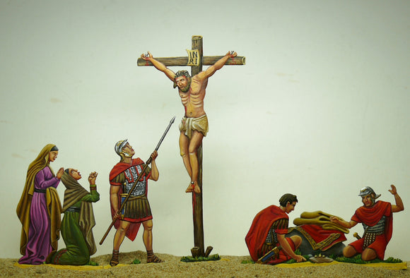 the Crucifixion (set R-3) - Glorious Empires-Historical Miniatures