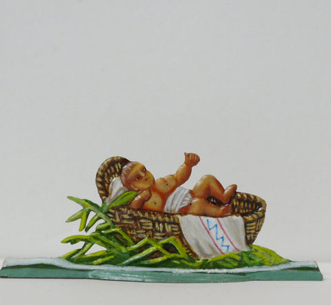 Moses in basket