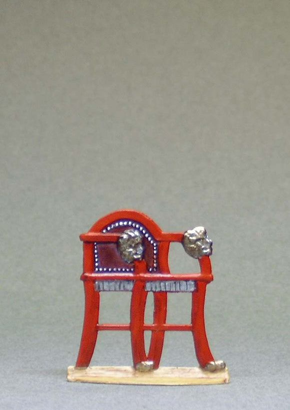 Small Wooden Chair - Glorious Empires-Historical Miniatures