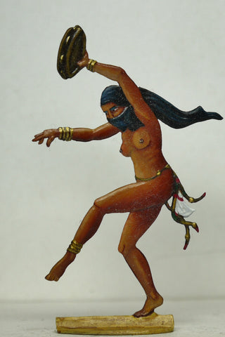 Dancer with tamborine