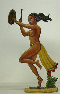 Dancer playing tamborine - Glorious Empires-Historical Miniatures