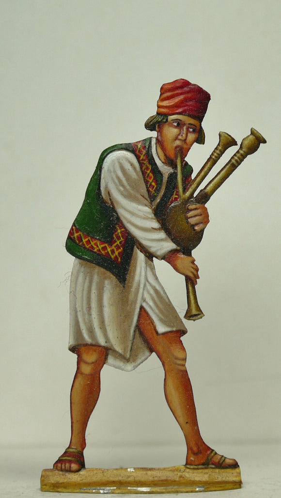 Bagpipe player - Glorious Empires-Historical Miniatures