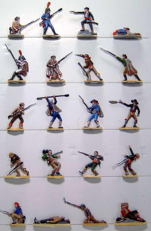 AA - Spanish mixed fighters - Glorious Empires-Historical Miniatures