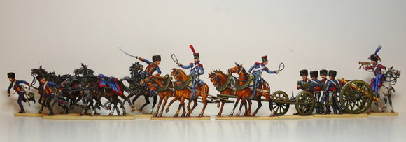 set 44 bringing up the guns, Borodino - Glorious Empires-Historical Miniatures