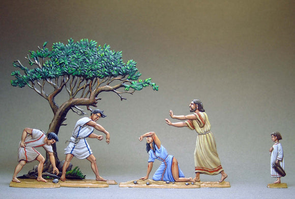 The Stoning of Maria Magdalene - Glorious Empires-Historical Miniatures