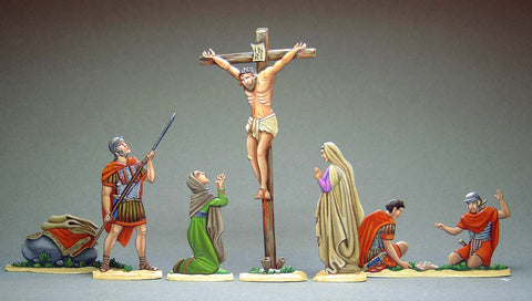 Crucifixion, set R3 full set.