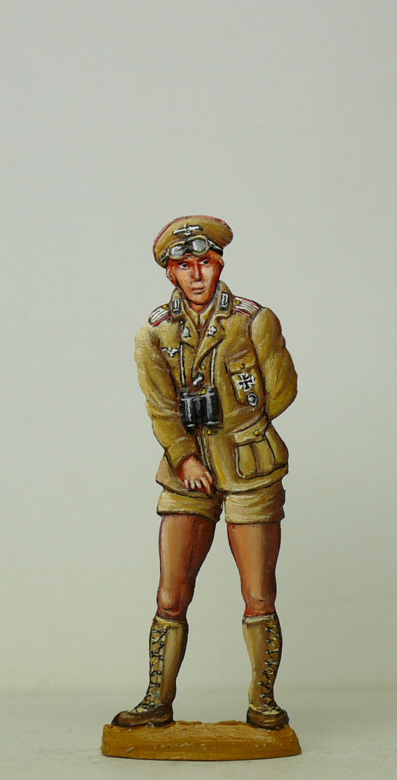 Africa Corps, Tank officer - Glorious Empires-Historical Miniatures