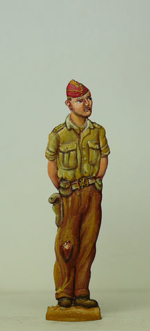 British Tank officer