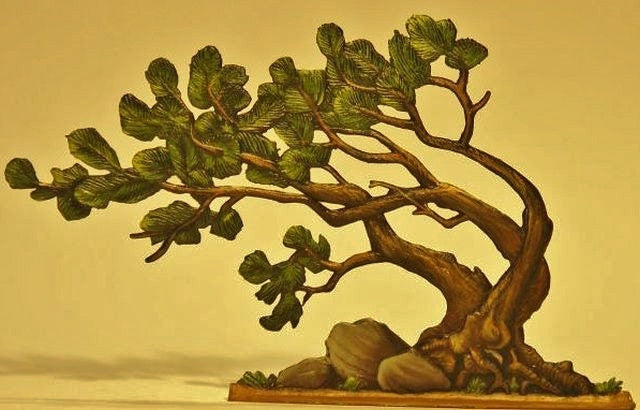Windblown tree - Glorious Empires-Historical Miniatures