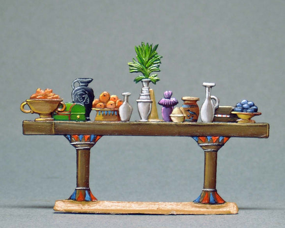 Large Table with Refreshments - Glorious Empires-Historical Miniatures