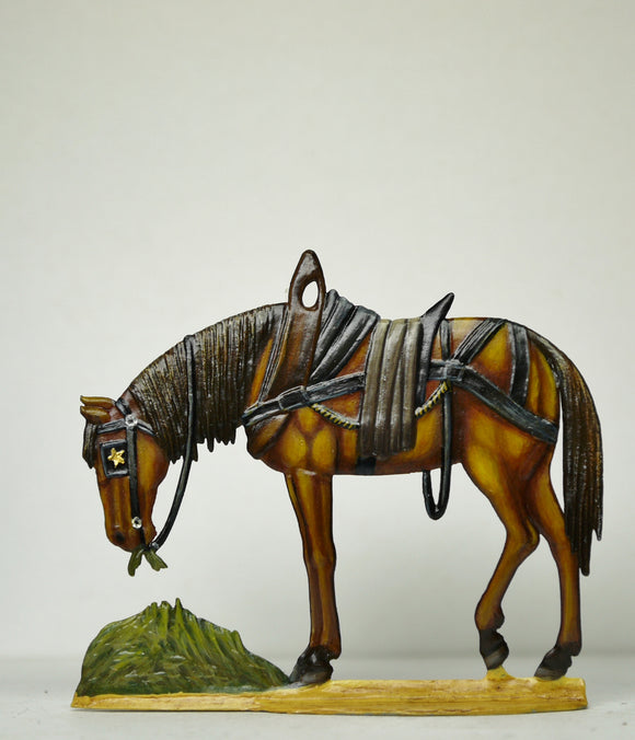 Cart horse - Glorious Empires-Historical Miniatures