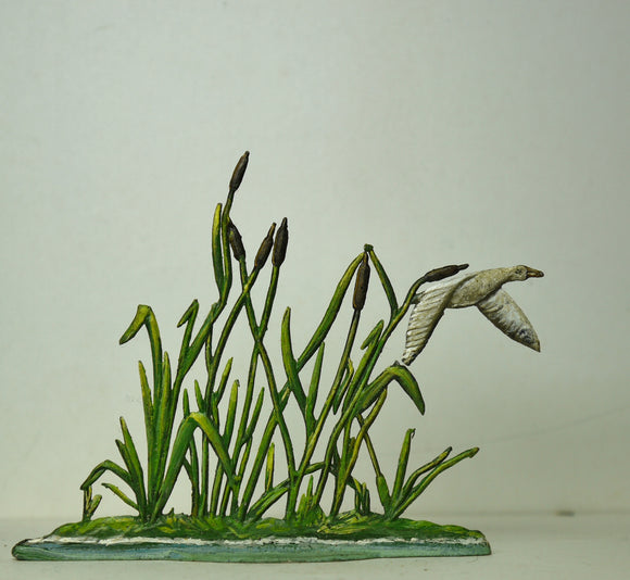 Medium reeds with duck flying out - Glorious Empires-Historical Miniatures