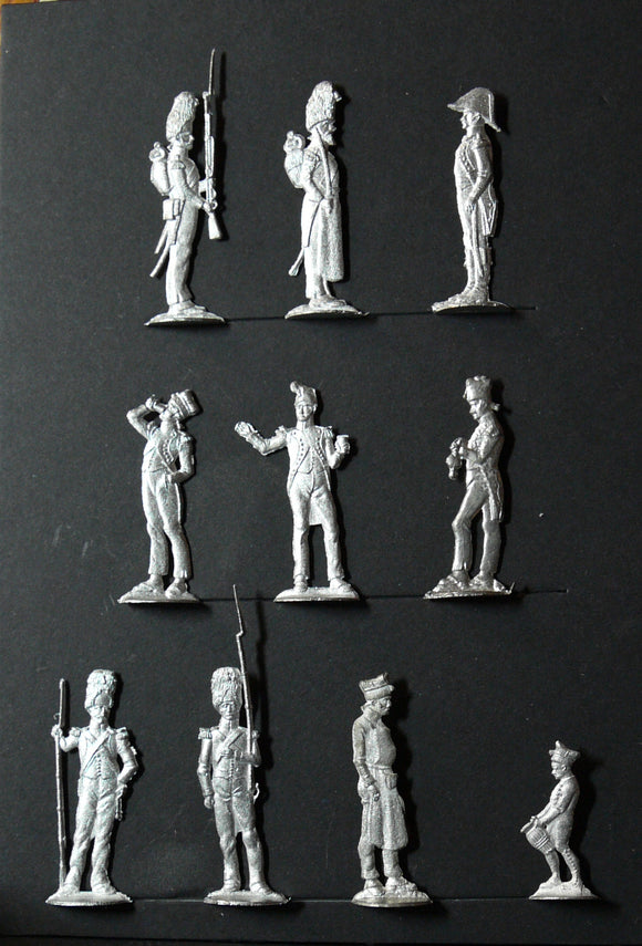 Mignot camp figures - Glorious Empires-Historical Miniatures