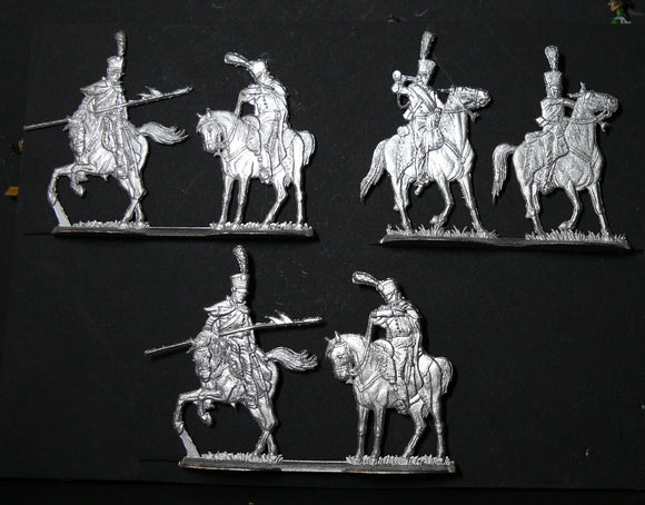 Saxony light lancers for Russia Campaign - Glorious Empires-Historical Miniatures