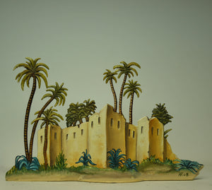 Sahara Fortress - Glorious Empires-Historical Miniatures