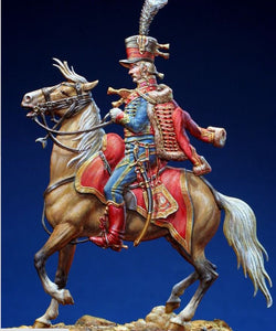 Hussar Officer - Glorious Empires-Historical Miniatures