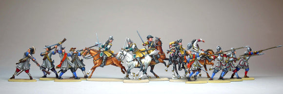 set 40.2 Allied troops - Glorious Empires-Historical Miniatures