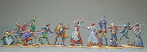 AA - Spanish Guerilleros, full set - Glorious Empires-Historical Miniatures