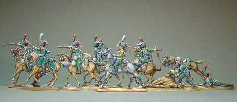 AA  - Line chasseurs, fighting (FULL set)