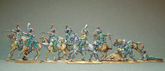 13  War in Spain - French Line chasseurs fighting