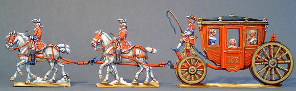 AA - The Queen, the Mistress and the Dauphin, full set - Glorious Empires-Historical Miniatures