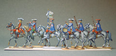 16.2  Louis XIV - Musketeers Escorte