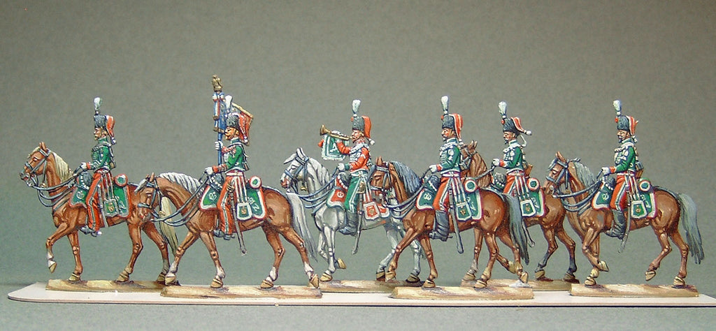 AA - set 17 - Guard Chasseurs 1870, full set