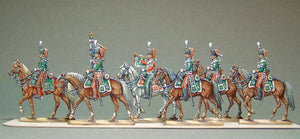 AA - Guard Chasseurs 1870, full set - Glorious Empires-Historical Miniatures