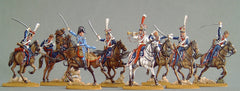31.1 Polish Chevaux legers, charge, frontal