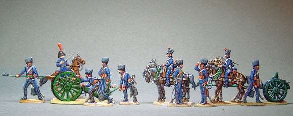 AA - Artillery loading, full set - Glorious Empires-Historical Miniatures
