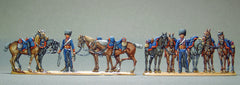 5.2  French Guard Artillery - Horseholders