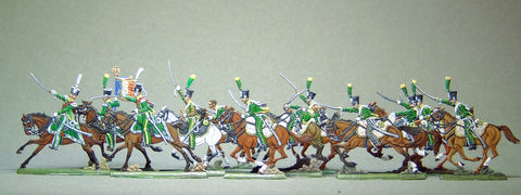 AA - Line chasseurs, charging, full set