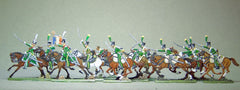 08  French Line Chasseurs - charging