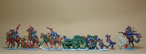 Artillery teams under fire - Glorious Empires-Historical Miniatures