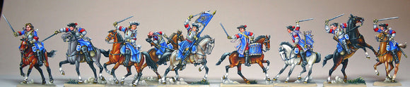 40.1 French Cuirassiers, Louis 14 - Glorious Empires-Historical Miniatures