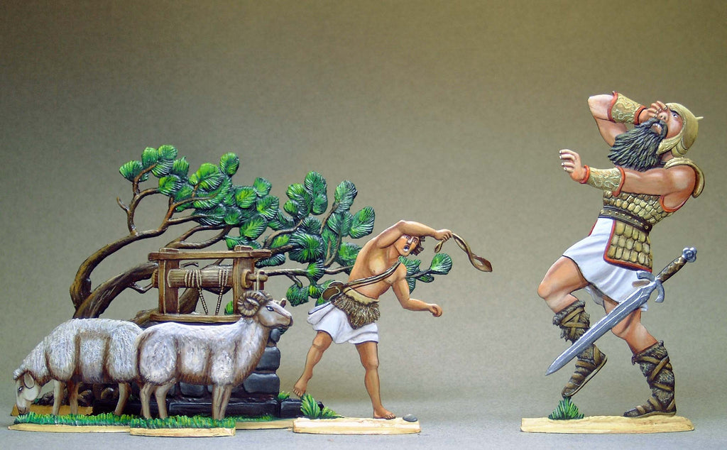 David versus Goliath - Glorious Empires-Historical Miniatures