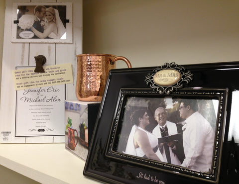 Wedding gifts at Lauralee Gifts